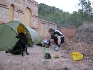 Radwandern in Spanien