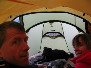 3-Mann Zelt... oder Mann-Frau-Hund-Zelt