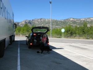 way to Tortosa