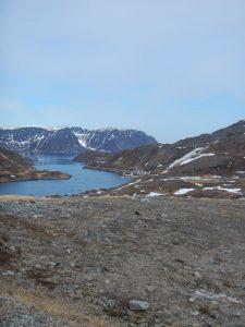 Fjordblick auf Mageroya