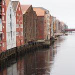 Die Speicherstadt in Trondheim