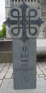 Ziel der Pilger auf dem Olavsweg, der Nidarosdom